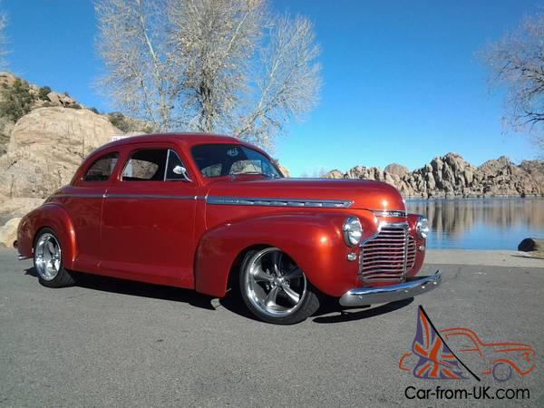 1941 41 Chevy Chevrolet Coupe Street Rod LS1 & 4L60E