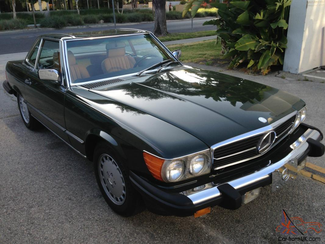 1986 mercedes benz 560sl 78k miles for Mercedes benz mileage