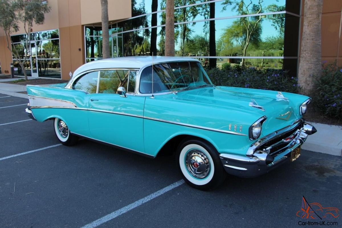 1957 chevrolet chevy bel air 2 door sport coupe for 1957 chevy belair 2 door