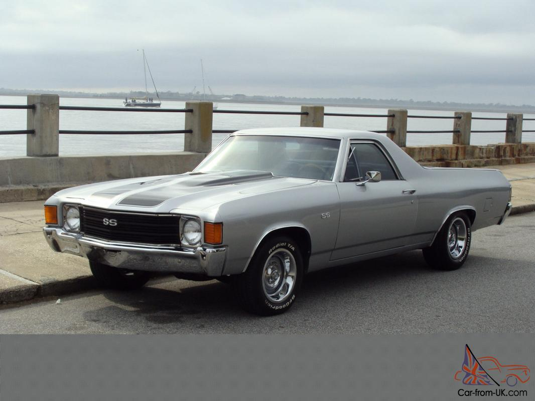1972 chevrolet el camino ss look and drives great. Black Bedroom Furniture Sets. Home Design Ideas
