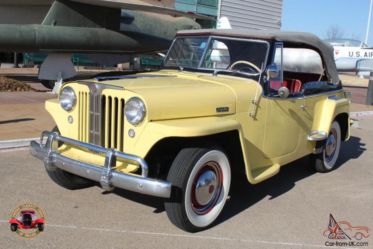 1949 Willys Overland Jeepster Classic W Overdrive