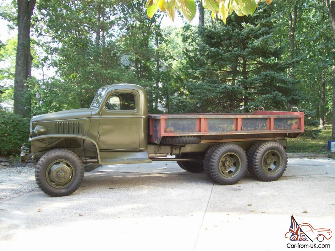 1942 gmc cckw military truck for Truck motors for sale