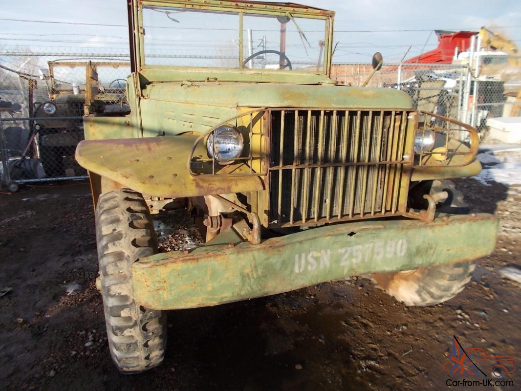 1945 Dodge Wc51 Weapons Carrier