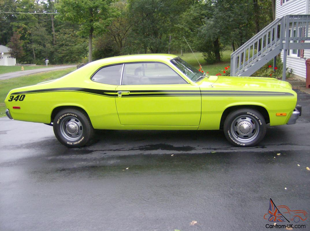 1973 340 Plymouth Duster