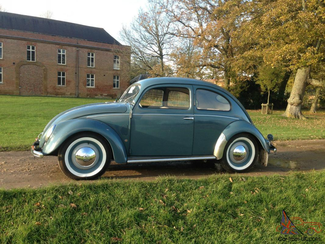 1952 vw beetle split rear window seriously rare for 1952 split window vw bug