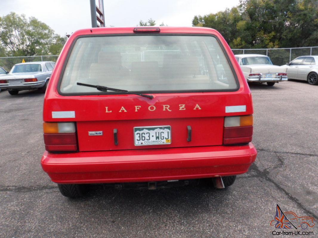 1989 la forza runs and drives great body in nice shape rust free ford 5 0l engine fun car