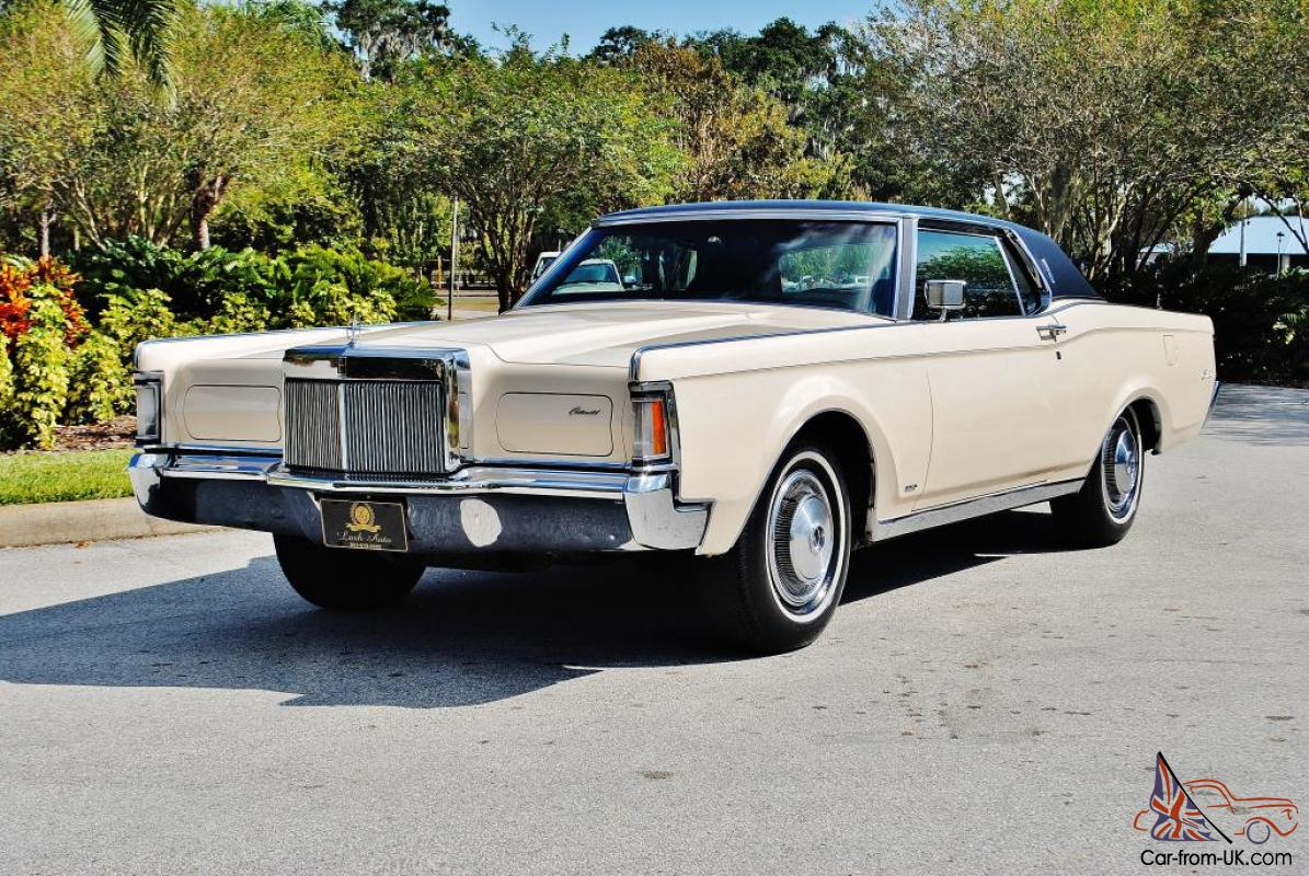 simply beautiful original low mileage 1971 lincoln continental mark iii amazing. Black Bedroom Furniture Sets. Home Design Ideas