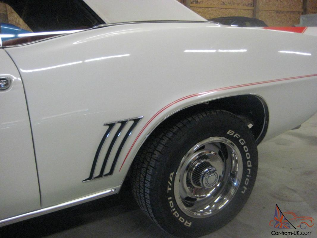 69 Camaro Pace Car RS SS 4 speed Convertible