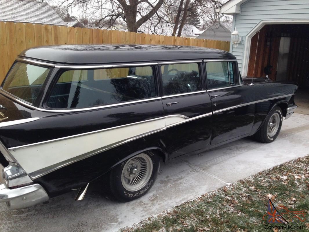 1957 chevy belair wagon 4 door plenty of windows for 1957 chevy 2 door wagon for sale