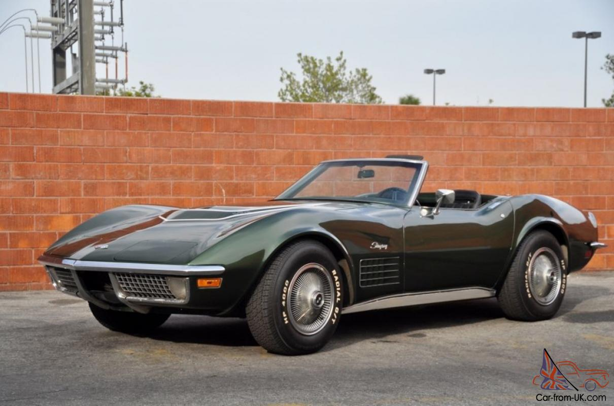 1970 Corvette Lt 1 Convertible Survivor