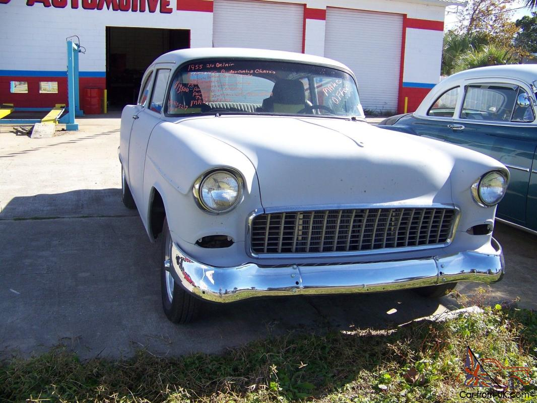 Auto For Sale Ebay: 1955 Chevy Belair Project Has Been Frame Off 454 Ci Turbo