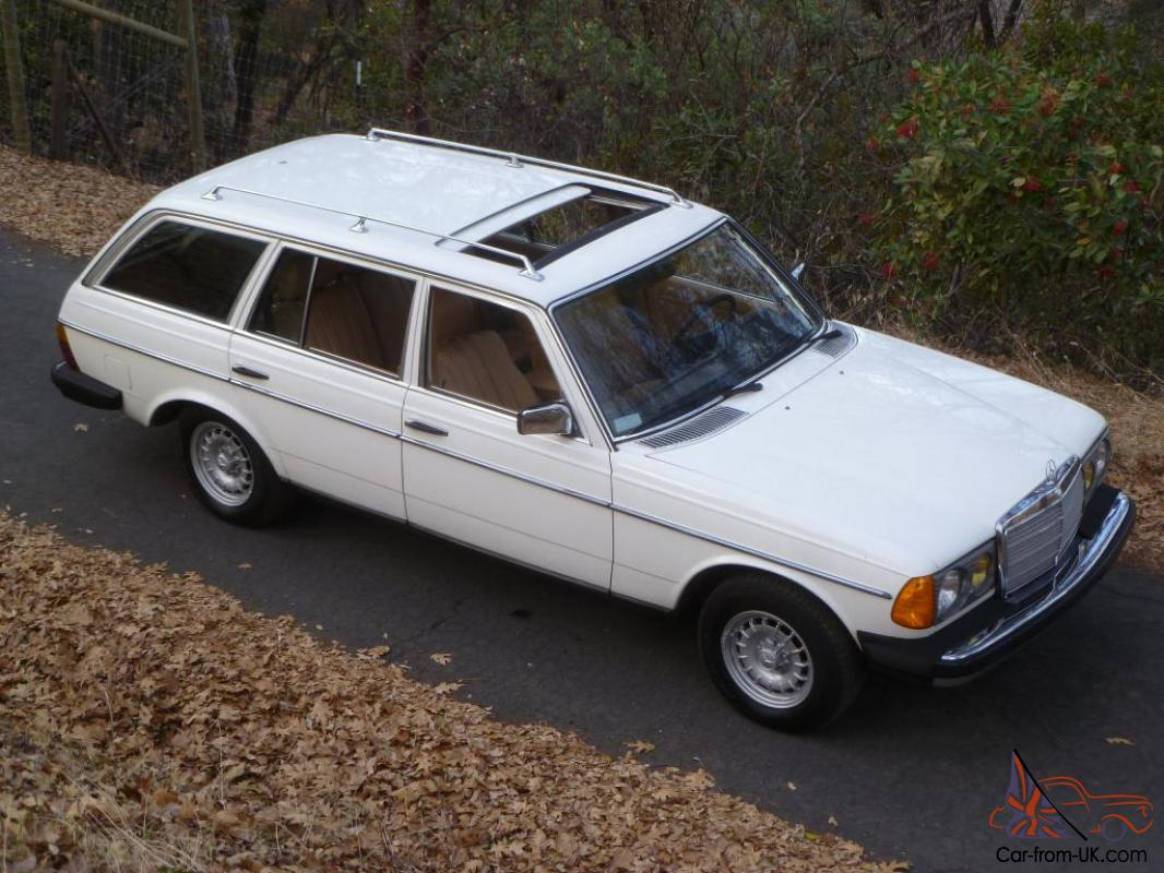 1982 mercedes benz 300td turbo diesel wagon 171k 7