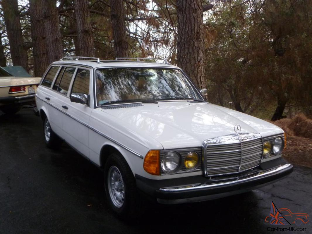 1982 mercedes benz 300td turbo diesel wagon 171k 7 for 7 passenger mercedes benz