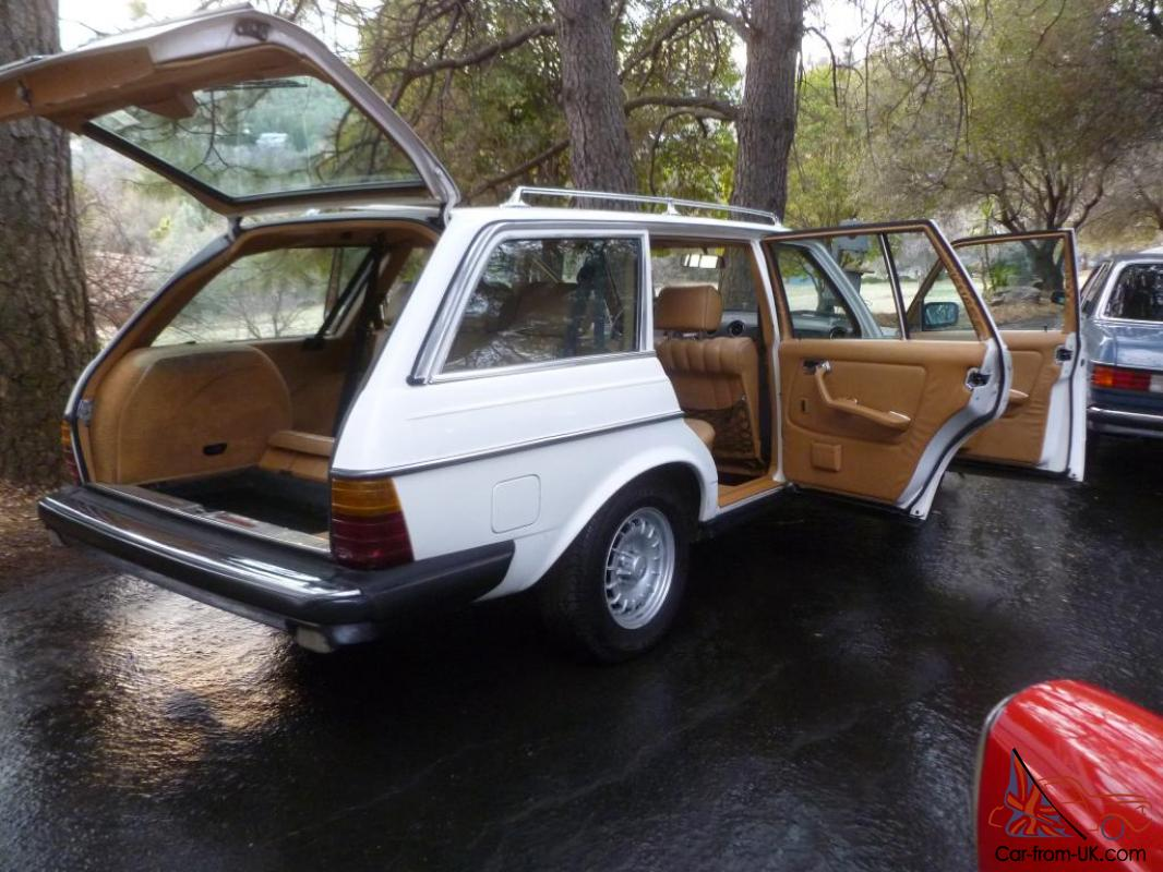 1982 mercedes benz 300td turbo diesel wagon 171k 7 for Mercedes benz diesel wagon for sale