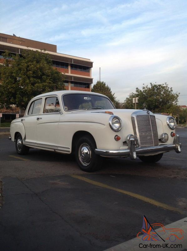 1958 mercedes benz 220s 4 door for 1958 mercedes benz 220s for sale