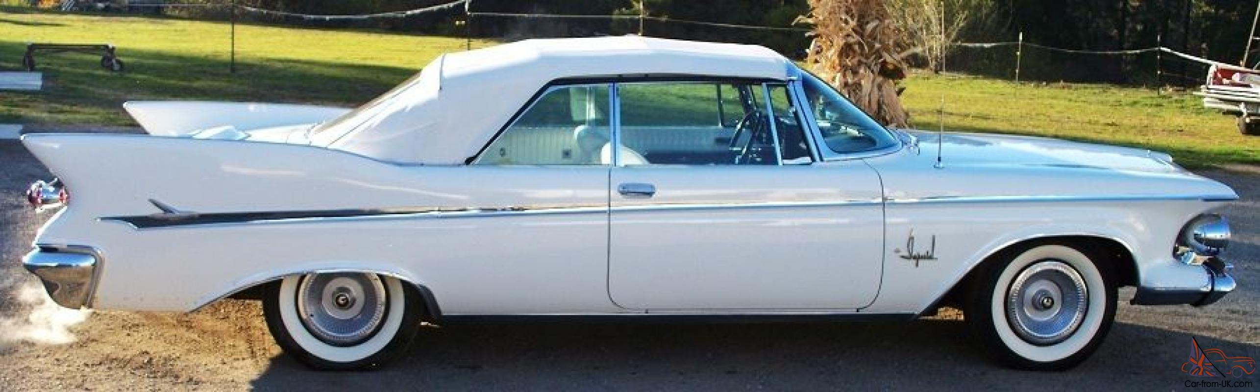 1961 chrysler imperial convertible nice kept in dry. Black Bedroom Furniture Sets. Home Design Ideas