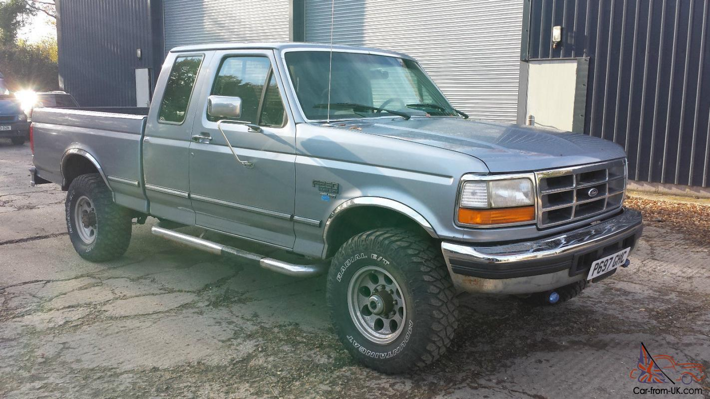 1997 ford f 250 7 3l powerstroke v8 diesel manual pick up truck 4wd lhd rh  car from uk com ford f250 owners manual ford f 250 manual