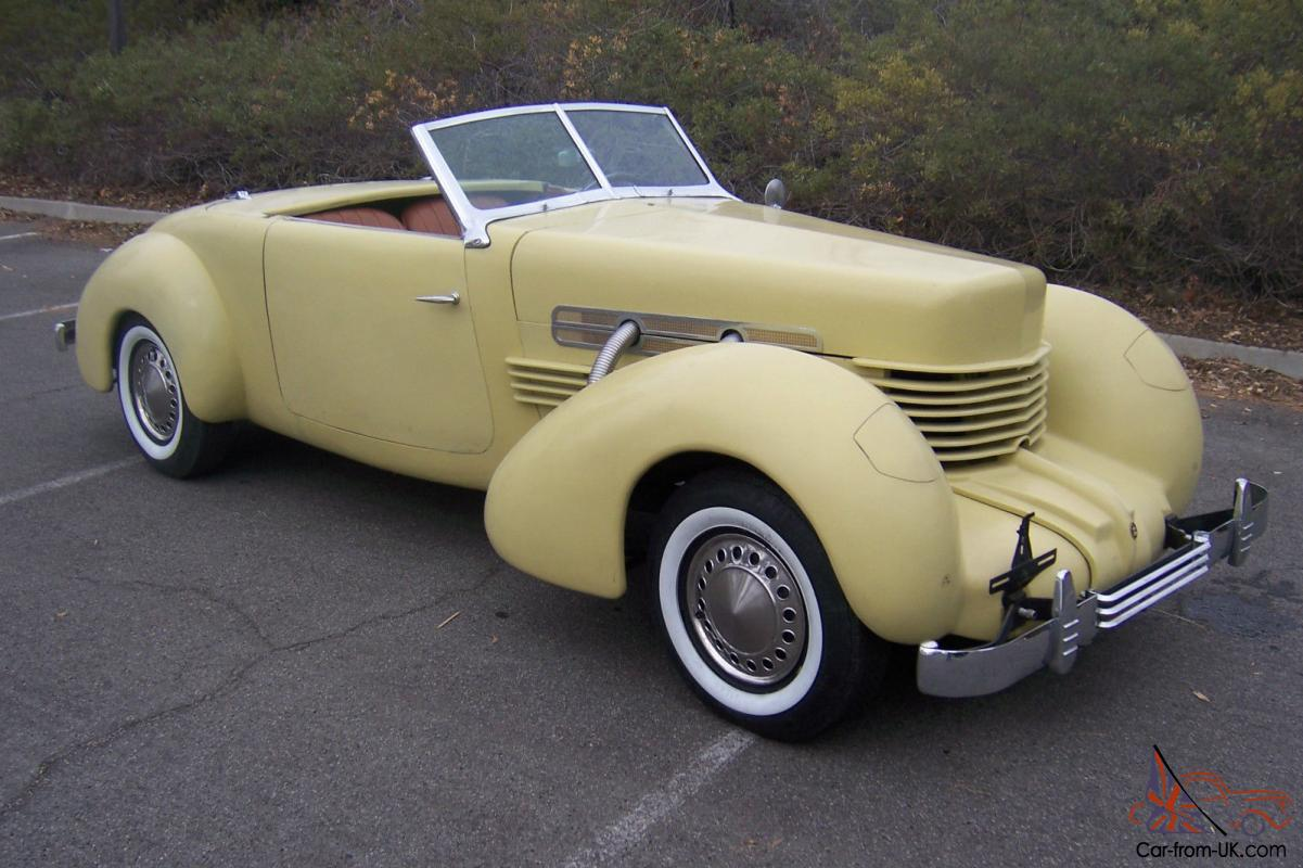 1936 cord 812 sportsman convertible one off custom built 2 for Cord motor car for sale