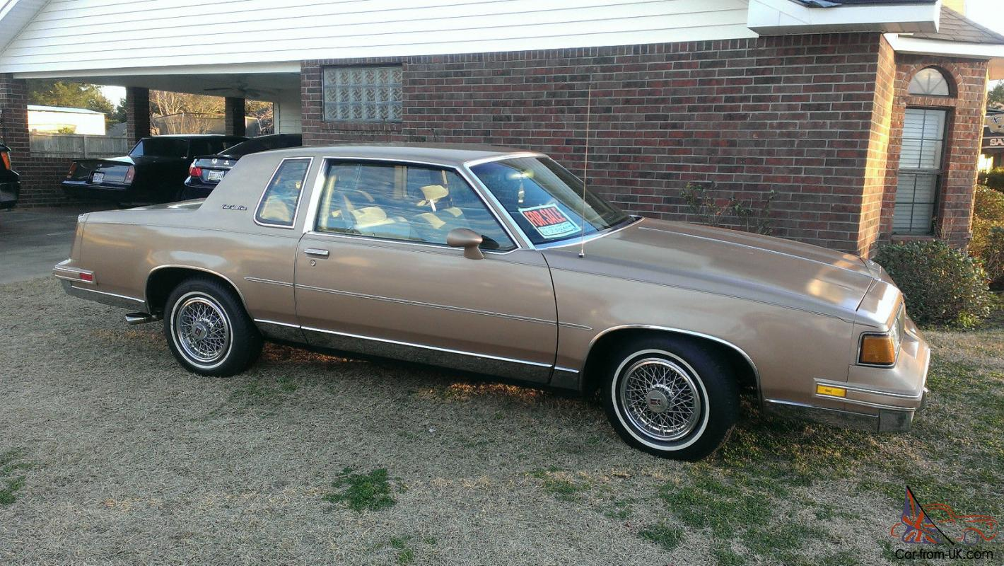 1988 Oldsmobile Cutlass Supreme Classic Brougham Coupe 2 Door 50L