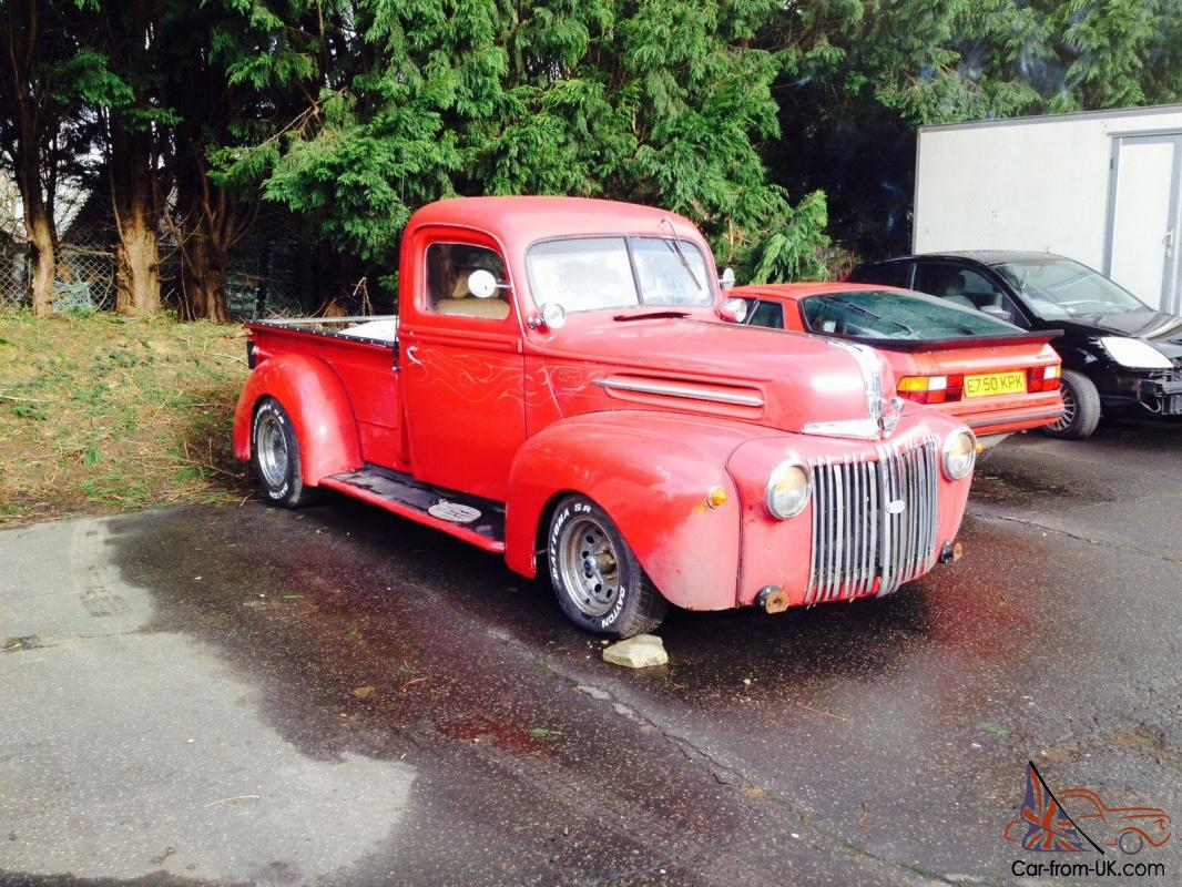 1946 ford f 1 pick up truck american chevy v8. Black Bedroom Furniture Sets. Home Design Ideas
