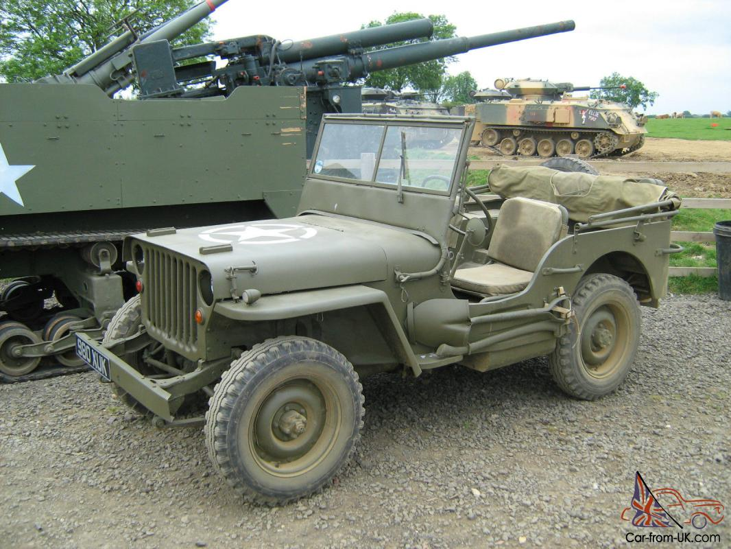 wwii 1944 willy s jeep