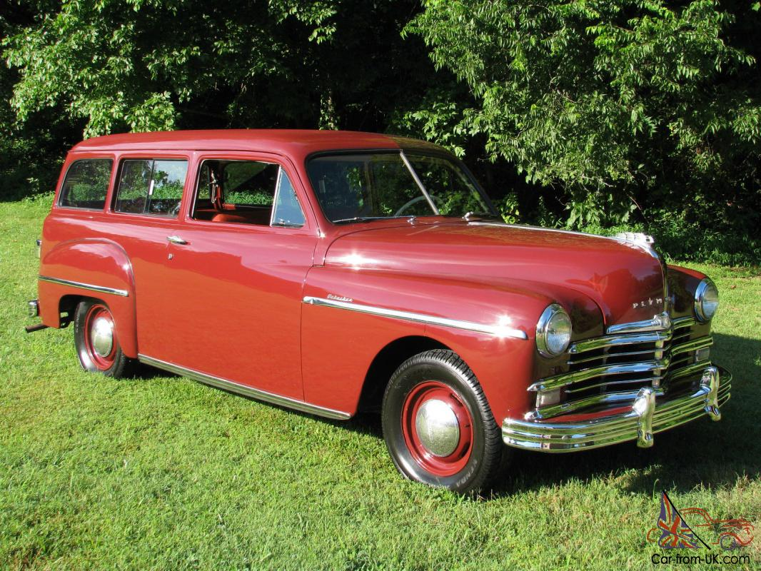 1949 plymouth suburban original driving suv. Black Bedroom Furniture Sets. Home Design Ideas