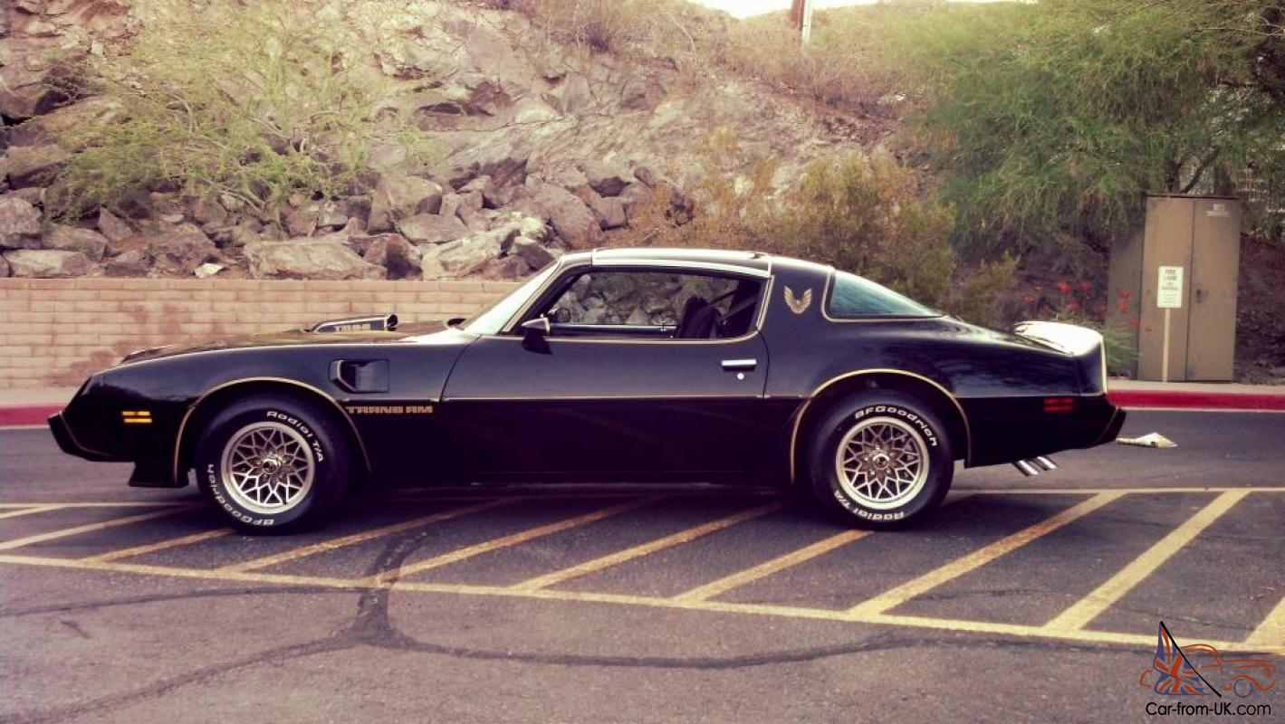 1979 Special Edition Smokey and The Bandit Black 400 4 spd ...