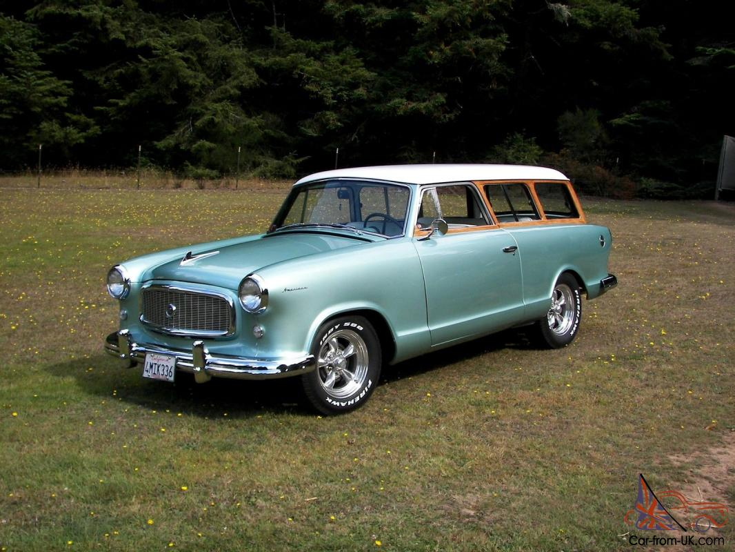 1959 rambler american woody station wagon. Black Bedroom Furniture Sets. Home Design Ideas