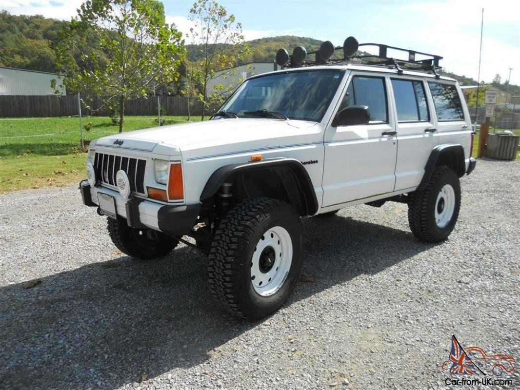 Lifted 1989 Jeep Cherokee Limited 40l Beautifully Modified 90 89 Wrangler Dash Wiring Harness Pictures