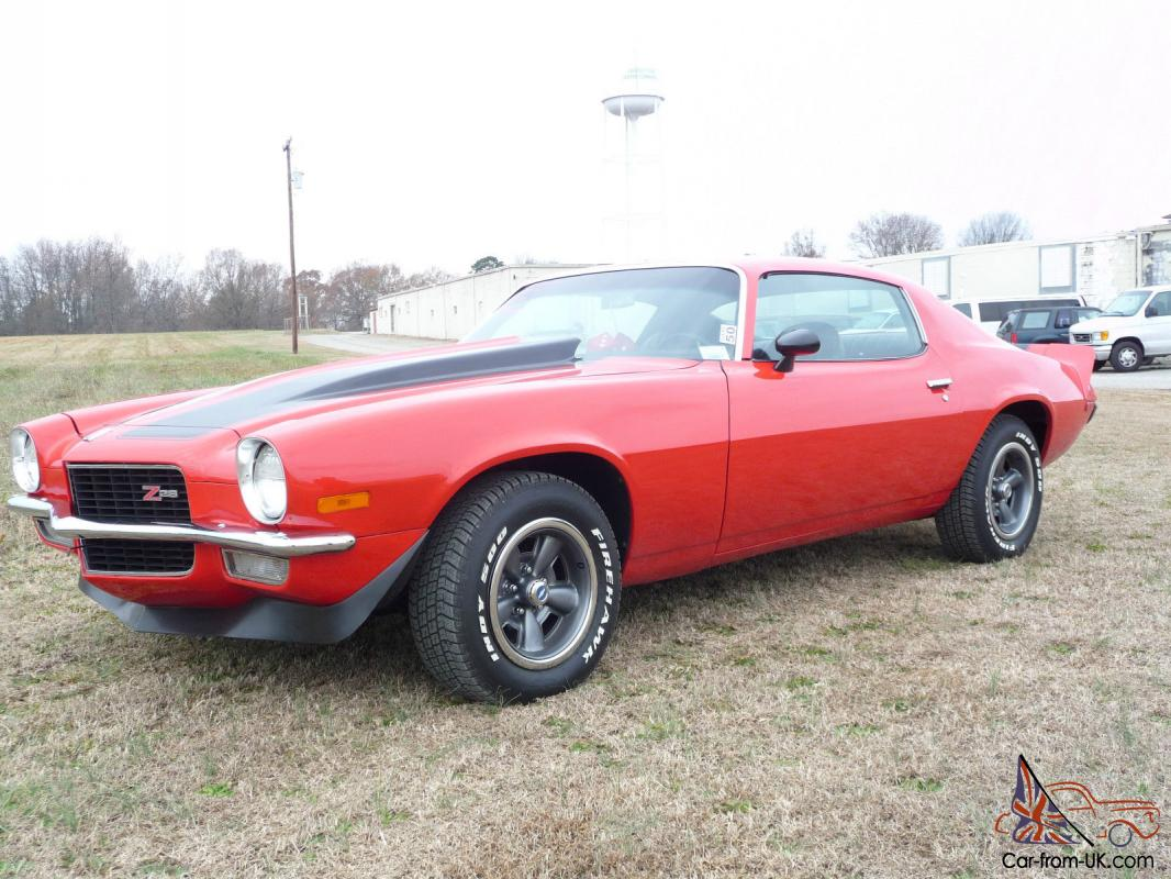 1973 chevrolet camaro z28 - photo #14