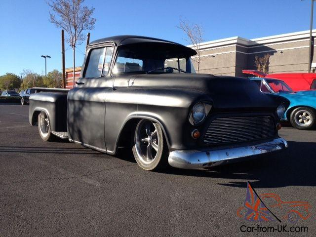 1957 chevy truck hot rod ratrod rat rod 383 stroker. Black Bedroom Furniture Sets. Home Design Ideas