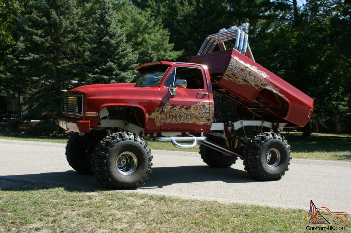 1985 chevy 4x4 lifted monster truck show truck. Black Bedroom Furniture Sets. Home Design Ideas