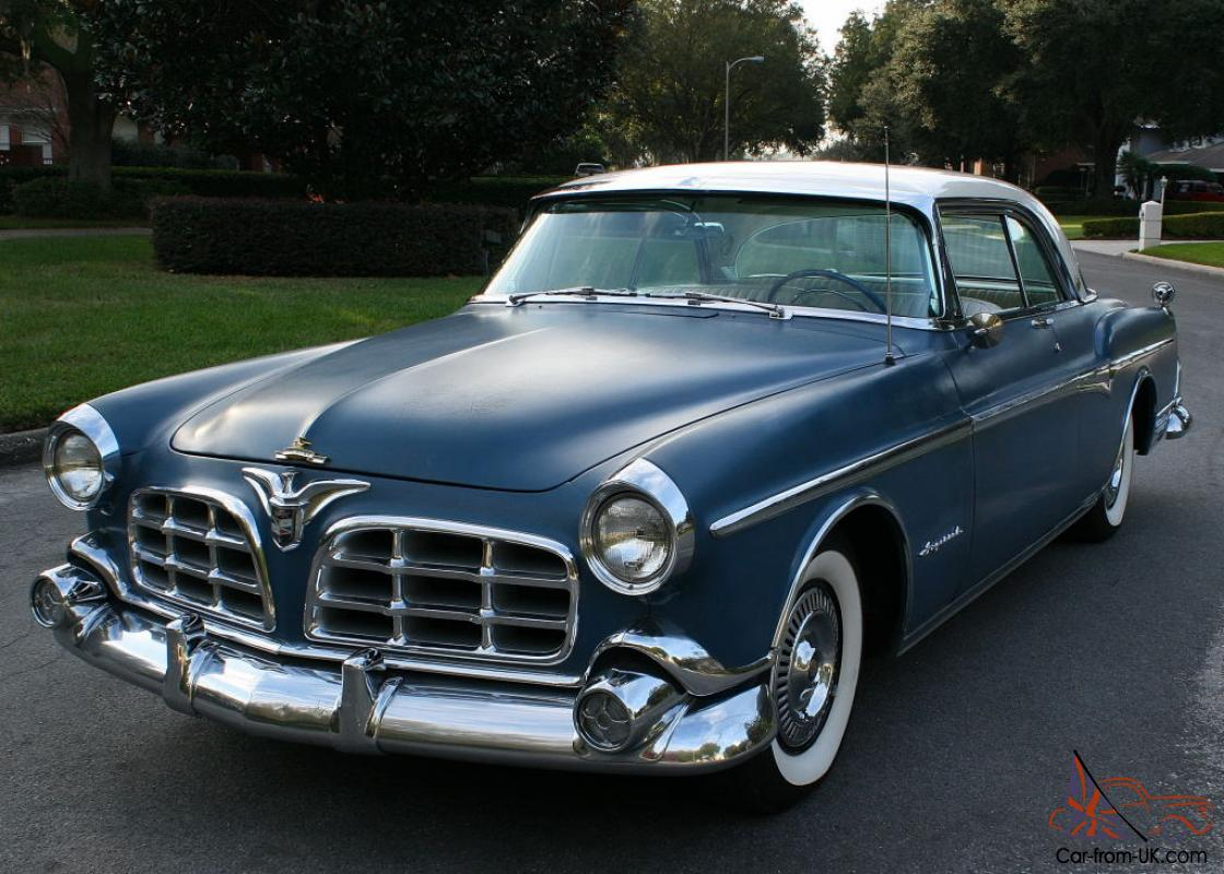Rust Free Ready To Complete Restoration 1955 Chrysler