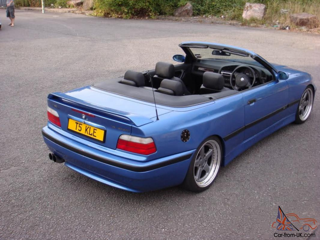 bmw m3 e36 1999 convertible ac schnitzer cs sport carbon body porsche 911 beater. Black Bedroom Furniture Sets. Home Design Ideas
