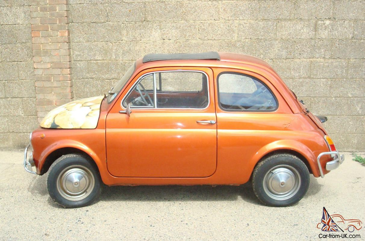 classic vintage fiat 500 right hand drive tax exempt. Black Bedroom Furniture Sets. Home Design Ideas