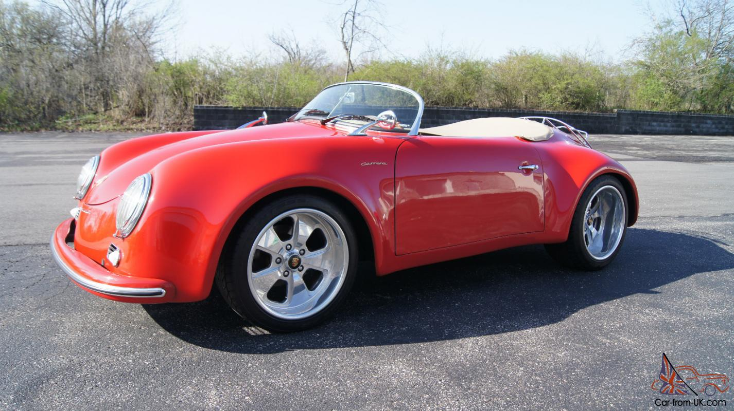 1957 Porsche Speedster Turbo Replica