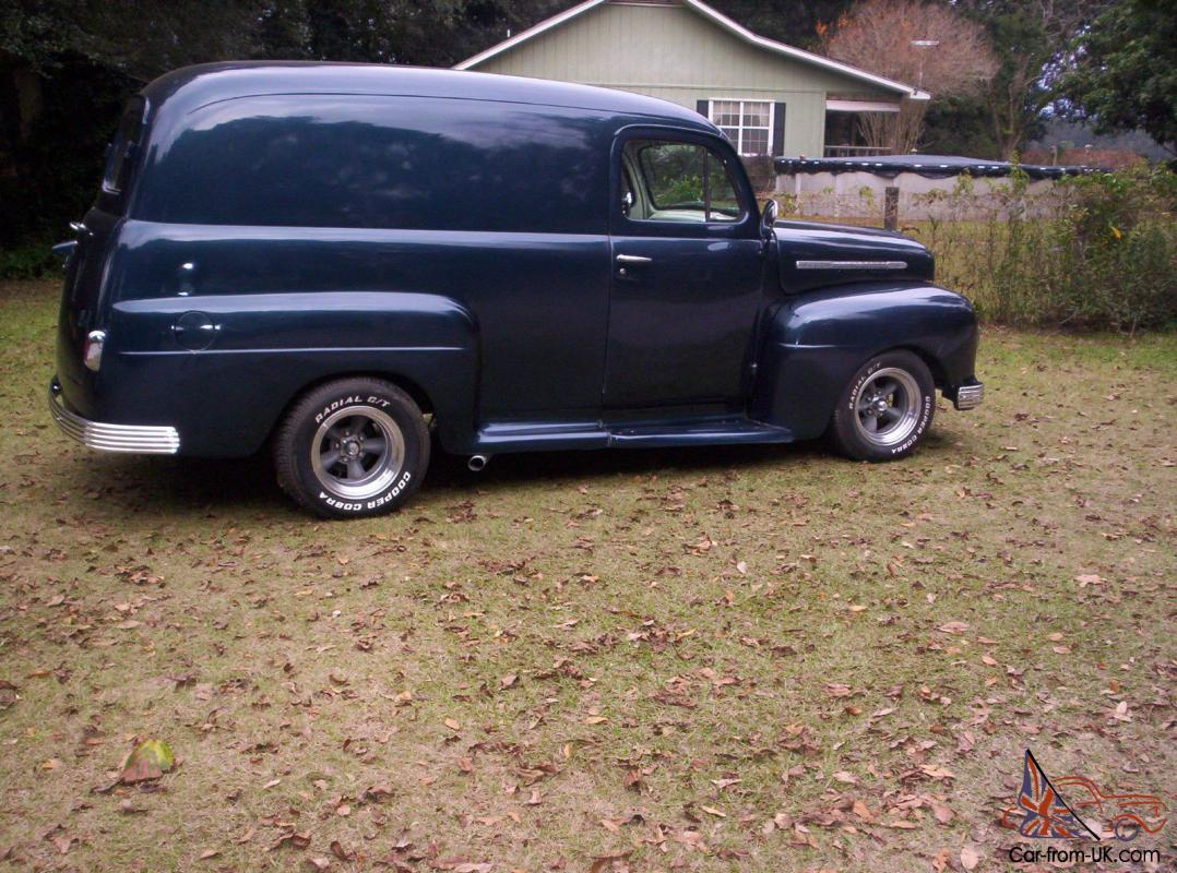 1951 ford panel truck hot rod street rod custom