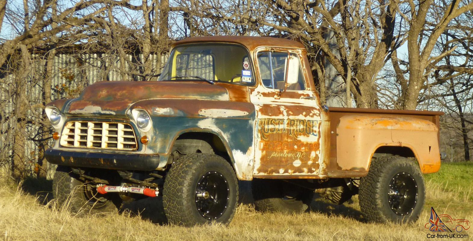1955 Chevy Trucks 4x4 Lifted For Sale Autos Post