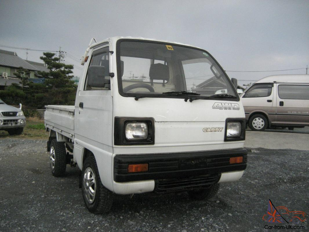 dump bed suzuki carry 4x4 japanese mini truck off road farm lance hunting 40mpg. Black Bedroom Furniture Sets. Home Design Ideas