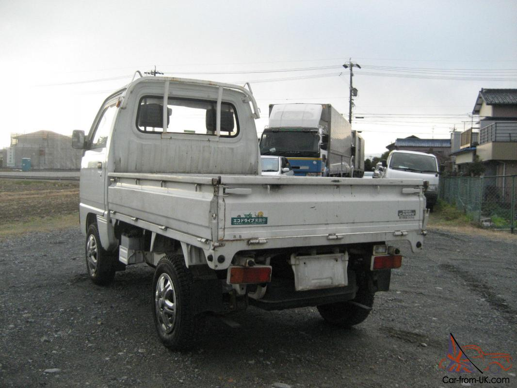 bed! suzuki carry 4x4 japanese mini truck off road farm lance