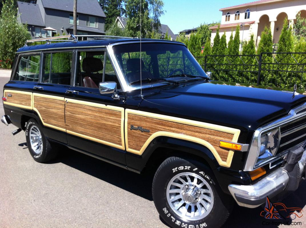 1988 Jeep Grand Wagoneer 4x4 V8 No Reserve