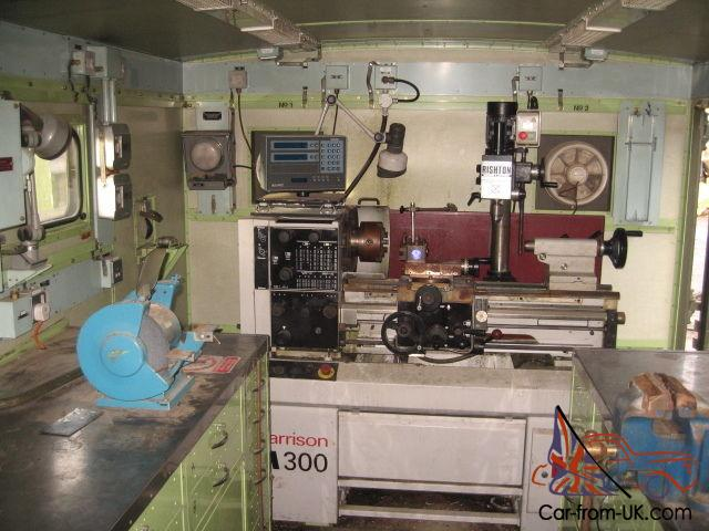 Ex Army Container Workshop