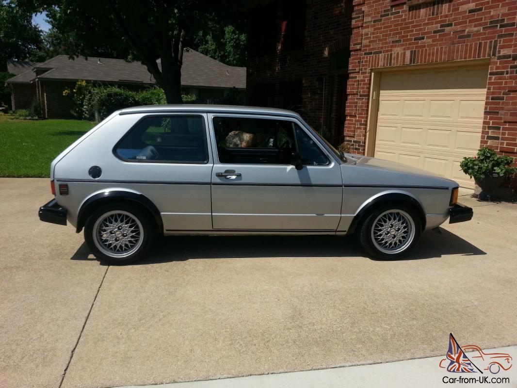 82 vw rabbit ls 1 6 diesel excellent condition clear title 2nd owner. Black Bedroom Furniture Sets. Home Design Ideas