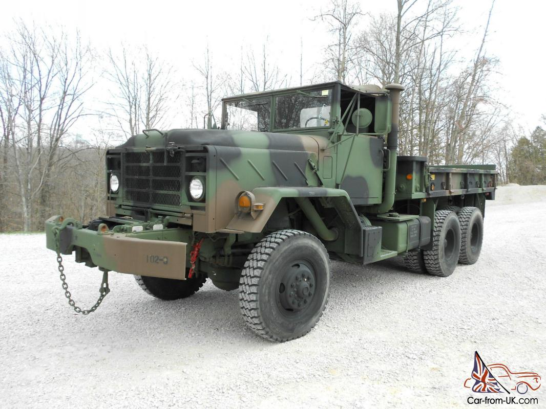 1984 2010 Rebuild M925 With Winch 6x6 Cargo Truck Great