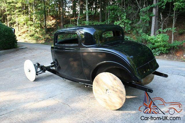 1932 ford rolling chassis and 3 window coupe package for 1932 ford 3 window coupe chassis