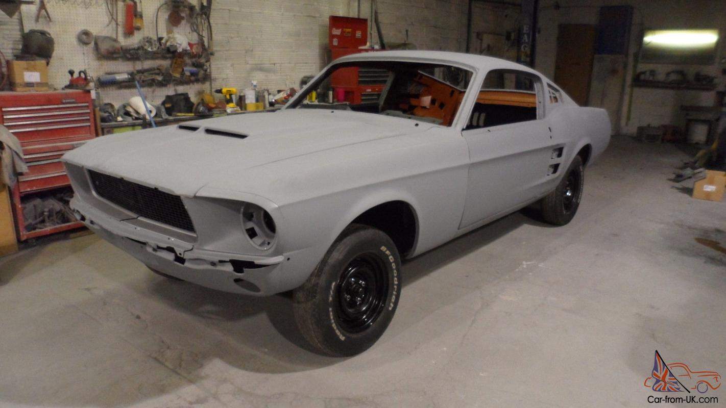 1967 1968 ford mustang fastback conversion eleanor clone shelby clone photo
