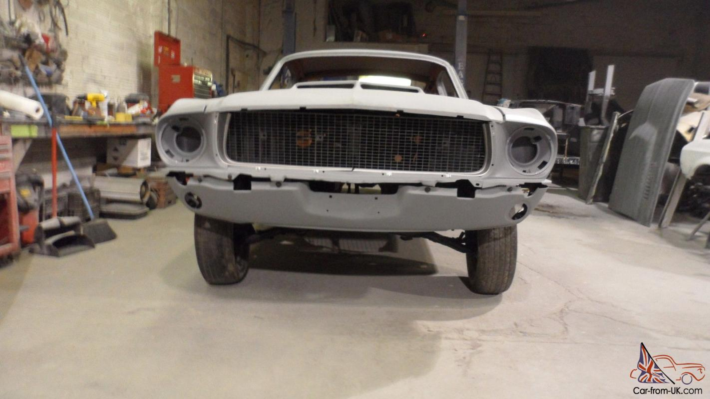 1967 1968 Ford Mustang Fastback Conversion Eleanor Clone Shelby