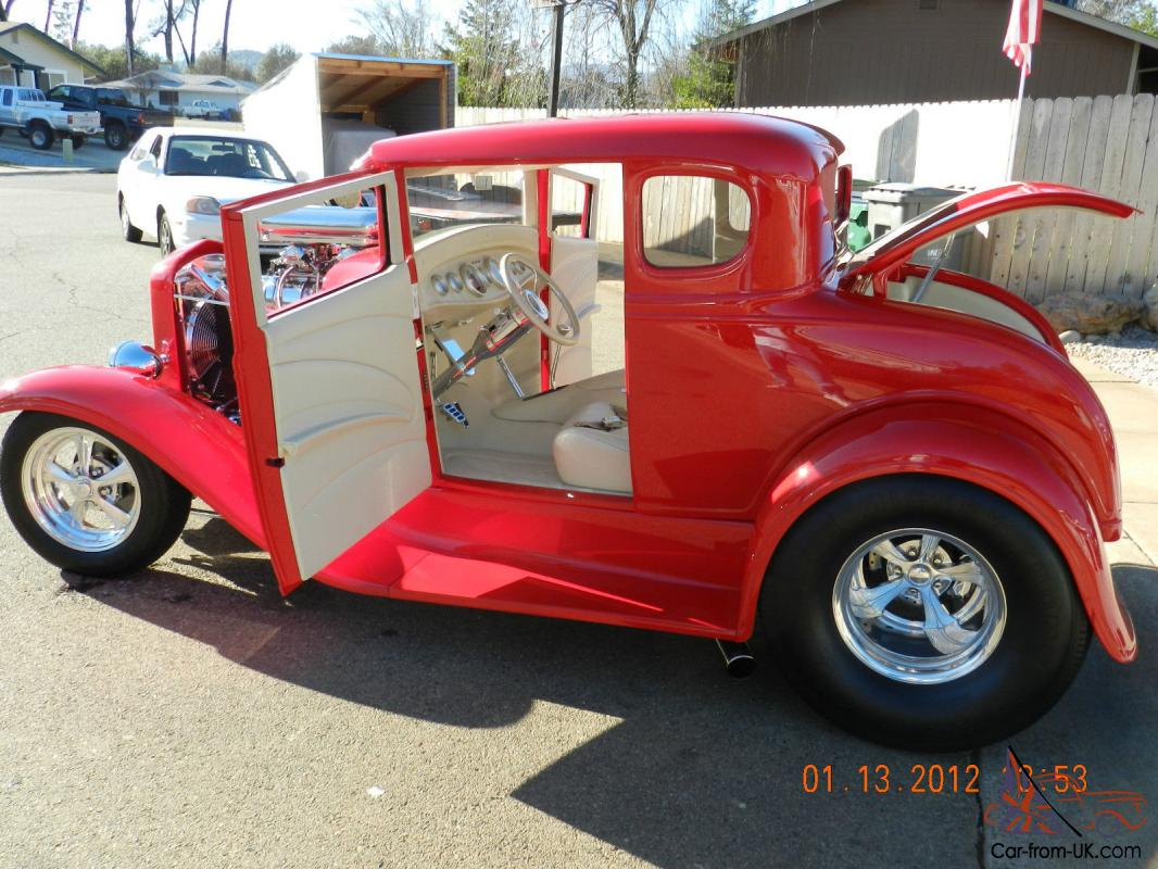 1931 ford 5 window coupe custom show car also on sale locally. Black Bedroom Furniture Sets. Home Design Ideas