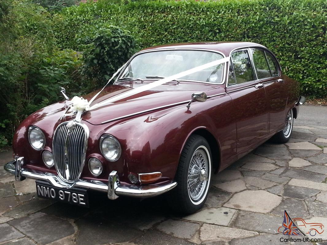 jaguar s type 3 8 opalescent maroon registered 1967 built 1965. Black Bedroom Furniture Sets. Home Design Ideas