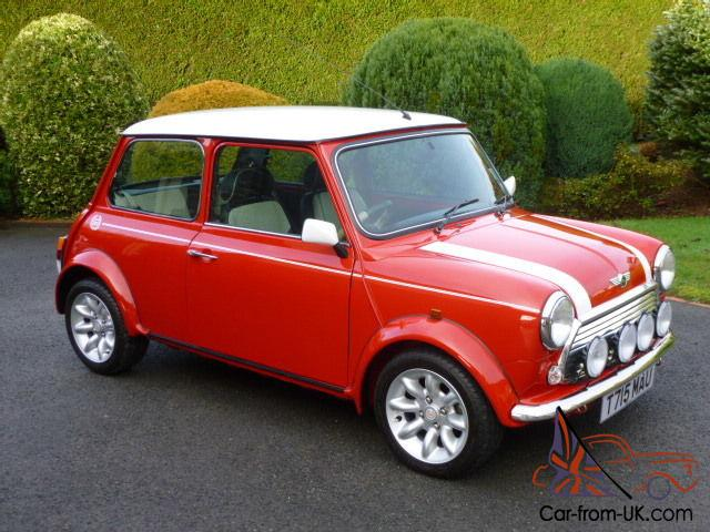 1999 rover mini cooper on just 4200 miles by its one owner from new. Black Bedroom Furniture Sets. Home Design Ideas